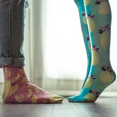 Such a perfect match!   #HappySocks #HappinessEverywhere #SummerStyles Cute Socks, Happy Socks, Perfect Match, Rubber Rain Boots, Stockings, Clothes, Shoes, Instagram, Fashion