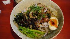 バンバンジー冷し麺@麺屋こうじ(北久里浜)