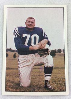 Artie Donovan- HOF (RIP) Arena Football, Sport Football, Football Fans, Football Players, Baltimore Colts, Indianapolis Colts, Nfl Championships, Championship Game, Johnny Unitas
