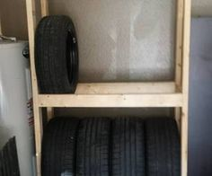 DIY Budget Tire Rack (or shelves) for your garage
