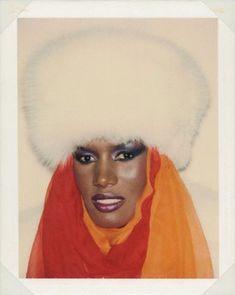 Andy Warhol polaroid of the fierce Miss Jones http://2.bp.blogspot.com/-MI3mEiokrfQ/UInRgcJ8zzI/AAAAAAAAXRQ/fsDsbpiUX9k/s1600/514ANDY+WARHOL-Grace+Jones-1984-1.png (Thx Rocio)
