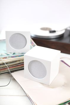 Hide your ugly speakers with this DIY speaker box cover