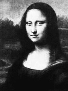 From Mona Lisa to Norman Bates, these GIFs just might give you nightmares.