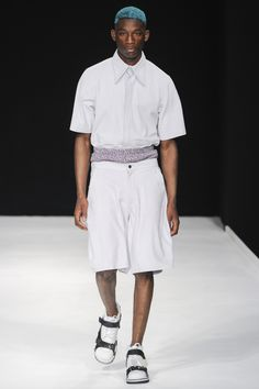 Christopher Shannon: menswear spring/summer 2014