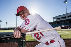 The story of Mike Trout's rise is one baseball fans can't afford to miss. (Getty Images)