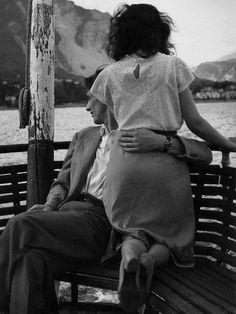 Paseo de domingo en el lago Maggiore, años 50 - Foto de  (1897 - 1969)