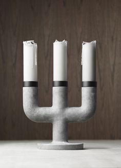 Weight Here Candleholders and Candelabras by KiBiSi