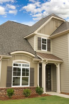 pictures of houses with hardie board siding and brick ...