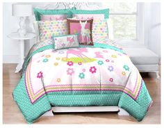 this comforter set is so cute and not over the top, would work for older kids too! Disney Bambi Comforter with Sham