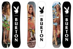 9504d8c83f1 Burton and Playboy Present Pinup Adorned Snowboards