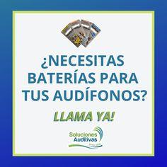Necesitas pilas para tus audífonos?  Opten el mejor precio en pilas Auditivas en Referencias 10 - 13 - 312 y 675  LLAMA YA!!  PBX: 6110808 o Realice su pedido por WhatsApp: 300 5260573.   soucionesauditivas.biz   #SolucionesAuditivas #DíaDePilas #Audición #FelizDía #MejoramosTuAudición #Soluciones #Pilas #Baterías #ILovePilas #Lunes #FelizLunes #Enero #InicioDeAño #2019 Audio, Happy Monday, January, Happy Day