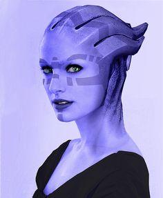 Mass Effect - Aliana Kryem by RAiiNB0Wsharpii on DeviantArt