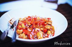 Intialainen chilikookoskana by Foodassion, via Flickr