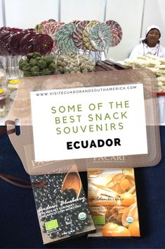 Some of the best snack souvenirs to get on your visit to Ecuador Ecuador, International Chocolate Awards, Yummy Snacks, Snack Recipes, Just Dream, How To Speak Spanish, Everyday Food, Food Inspiration, Gourmet