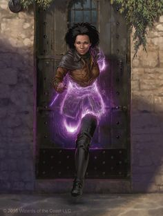 """we-are-rogue: """"Kaya, Ghost Assassin, by Chris Rallis. [poster] """""""