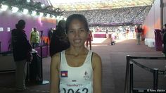 Cambodia's only athlete at the Paralympics