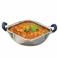 JVL Square Kadai 13 cm for sale online with free shipping in India. Cookware, India, Free Shipping, Ethnic Recipes, Food, Diy Kitchen Appliances, Kitchen Gadgets, Rajasthan India, Kitchen Utensils