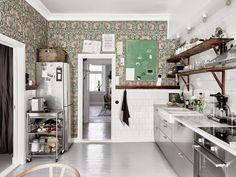 �Papel pintado en la cocina? | Etxekodeco