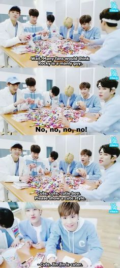ASTRO White Day Candy on VApp. http://www.vlive.tv/video/6381