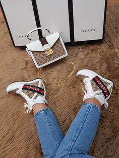 Addidas Sneakers, Cute Sneakers, Wedge Sneakers, Sneakers Fashion, Fashion Shoes, Fashion Accessories, Gucci Fashion, Fashion Bags, Nike Boots