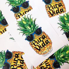 The Pura Vida pieces everyone can't get enough of. Pineapple Art, Watercolor Lettering, Pura Vida Bracelets, Surfs Up, Work Shirts, Lettering Design, Best Sellers, Coding, Diy Crafts