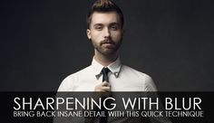 Sharpening With Blur – Bring Back Insane Detail With This Quick Technique by Clay Cook Photoshop Help, Photoshop For Photographers, Photoshop Photography, Photoshop Tutorial, Photoshop Actions, Photoshop Elements, Photography Lessons, Photography Tutorials, Photography Ideas