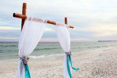 Beach Ceremony Ideas Wedding Ceremony Photos on WeddingWire