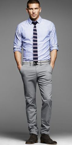 Adam Senn Steps Out for Express Summer 2012