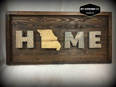 Love your state? Custom orders available. Pick your state, and your stain colors for H, M & E. All states are made with Spalted Maple and finished with Teak Oil. Since signs are made on natural wood, you may notice differences such as cracks, knicks, and knots in different places on each