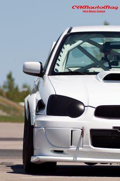 Track-only Subaru WRX STi