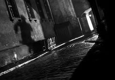 Dutch angle scenes are classic film noir. In design they are more visually interesting to me. Scenes like this are also the inspiration for the low lighting and use of grays in my design concept. This screenshot is from the movie The Third Man (1949). #LGLimitlessDesign #Contest