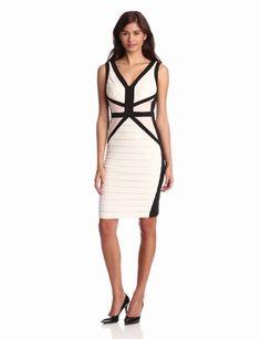 Amazon.com: Jax Women's Block Banded Dress: Clothing