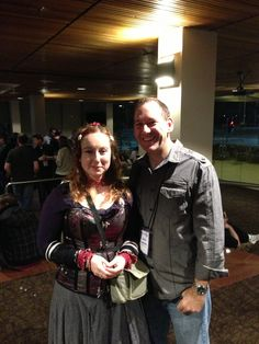 Conflux 2013: Helen and me.