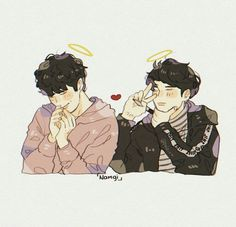 Read 《NamGi》 from the story Fanarts e Imágenes Sin Censura de BTS (Pausada) by JulyCuter (🍷Dionysus🍷) with reads. Tal vez no. Taehyung, Namjoon, Hoseok, Wholesome Pictures, Jimin, Rap Lines, Korean Art, Bts Drawings, Wattpad