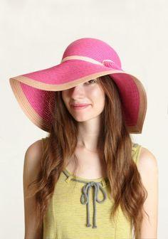 I love sun hats.