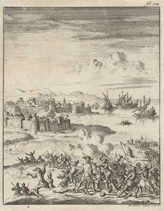 Belegering van een stad, Jan Luyken, 1684