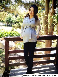 Heritwine Maternity.  Our most popular sweater, the Cross over gray maternity sweater, just $36.99.  Great for Fall and Winter. www.heritwinematernity.com