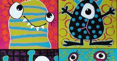 Dette forløb har indhøstet SÅ mange spontane udbrud fra særligt drengene i de folkeskoleklasser jeg har besøgt med mit roadshow genne... Kids Crafts, Arts And Crafts, Art Projects, Projects To Try, Art Lessons Elementary, Crochet Stitch, First Birthdays, Snoopy, Kids Rugs