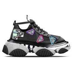 The designer taking your fave ugly sneakers to extreme new levels Chunky Sneakers, Best Sneakers, Sneakers Fashion, Shoes Sneakers, Fashion Shoes, Crazy Shoes, New Shoes, Baskets, Fresh Shoes