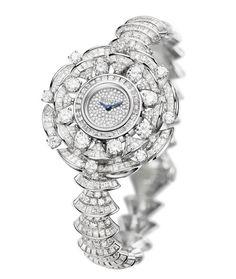 Bulgari montre Diva http://www.vogue.fr/joaillerie/shopping/diaporama/horlogerie-montres-bale-2014-baselworld/17999/image/988287#!horlogerie-bale-2014-bulgari-montre-diva