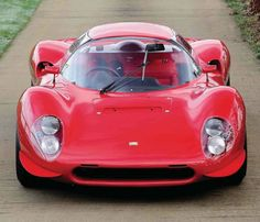 1967 Ferrari 206 SP  -  THANKS TO Gibson J Bradley