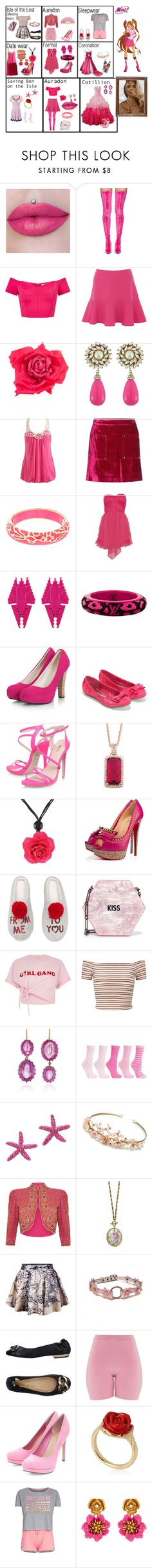 """""""Floria"""" by traceymarh ❤ liked on Polyvore featuring Balenciaga, Miss Selfridge, Johnny Loves Rosie, Wet Seal, Opening Ceremony, Andrew Hamilton Crawford, Amrita Singh, Rare London, Louis Vuitton and Pieces"""