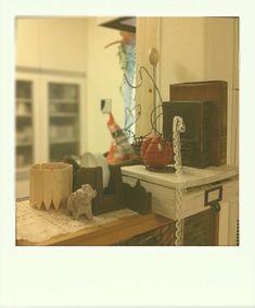 セリア材料でカウンター上にカフェ風収納 | あなぐら別館