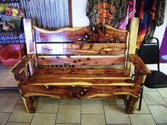 I love this cedar bench!
