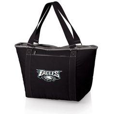 Topanga Cooler Tote (Philadelphia Eagles) Digital Print - Black