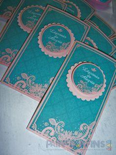 """Envelopes personalizados para as """"Lágrimas da Alegria"""" #papelariapersonalizada"""