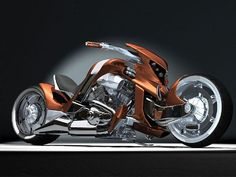 Moto : Illustration Description Custom Motorcycles V Rex