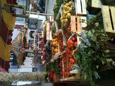 Saturday market in Vence, France