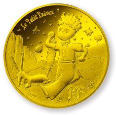 星の王子さま フランス版発刊75周年記念コイン デザインと解説 Coins, Personalized Items, Design