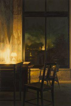 Looking. Bo Young Jeong (Korean, b.1973) Oil on canvas,  2010. Korean Art Museum Association.